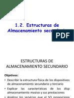 Cap1.2 Estructuras de Almacenamiento Secundario