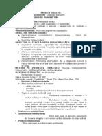 0 Proiect Didactic Test Docimologic Ix