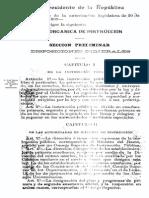 Ley Orgánica de Instrucción_1901