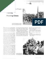 Training Pershing Crews