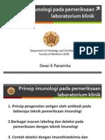 17. Prinsip Pemeriksaan Imunologi