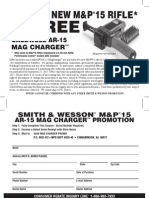 SMITH & WESSON REBATE - Caldwell® AR-15 Mag Charger valid 5/1/15 - 8/31/15/1/15 - 8/31/15