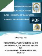 Puente Lacramarca - Exposicion
