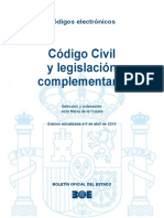 BOE-034AASASAAA Codigo Civil y Legislacion Complementaria