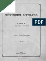 Convorbiri Literare 1 Feb 1873