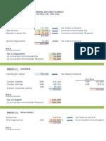 Caso Práctico Balance General Reestructurado