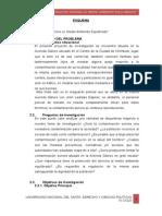 Proyecto de investigación Contaminación acústica