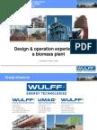 Charla Diseño y Operacion de Una Planta de Biomasa