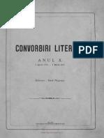 Convorbiri Literare 1 Ian 1877 Ion Creanga