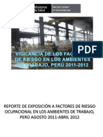 Vigilancia de Los Ambientes de Trabajo - PROYECTO