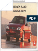 Citroen Saxo Manual Usuario Esp