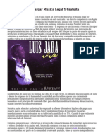 Paginas Para Descargar Musica Legal Y Gratuita