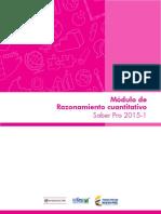 Modulo Razonamiento Cuantitativo Vfinal Para Publicacion 2015 1 Mar 26 15
