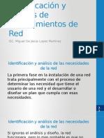 Identificación y análisis de requerimientos de Red