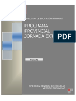 Documento en Proceso Jornada Extendida 2013