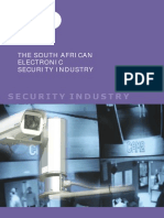 Electronic Security Industry South Africa