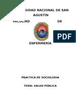 SOCIOLOGIA-Salud Publica