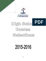 DCC High School Course Selection Book 2015-2016