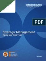 Dcom506 Dmgt502 Strategic Management