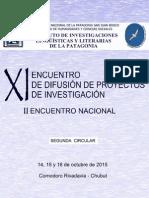XI Encuentro ILLPAT 2015 - Segunda Circular