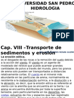 Cap.VIII,Transporte de sedimentos, erosión.ppt.pptx