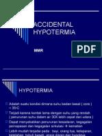 Accidental Hypotermia