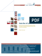 State Bar of California audit