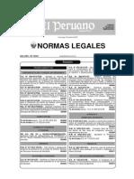 DS 006-2013-PCM Autorizaciones Sectoriales Detallado