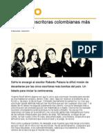 Top de Las Escritoras Colombianas Más Bonitas-Roberto Palacio