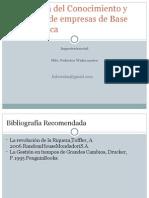 Economia Del Conocimiento Creacion EBT ING. Social 2015