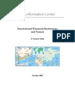 IFIs+and+Yemen