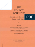 Lasswell (1951) - The Policy Orientation (Izvorni Tekst)