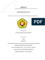 Refrat Appendisitis