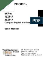 5xpa amprobe multimeter