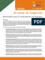 Referendum de Conformación de Regiones