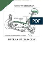 Manual Sistema Direccion Automoviles Esquema Componentes Arquitectura Mecanismo