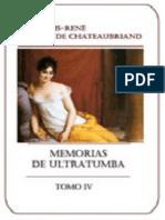 Chateaubriand Francois - Memorias De Ultratumba - Vol IV.epub