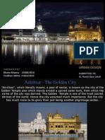 Amritsar city - urban design