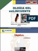 Psicologia Del Delincuente 2011