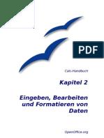 OpenOffice Calc - Handbuch - Kapitel 2