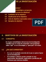CAP 4 Objetivos