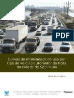 Curvas Intensidade Uso Veiculos Automotores Cidade Sao Paulo