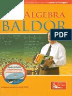Álgebra de Baldor-editorial Patria. Atuaclizada