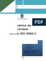 Trabajo Norma ISO 9000-3
