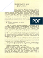 PLJ Volume 32 Number 1 -04- Edgardo Angara & Fe M. Calanog - Administrative Law