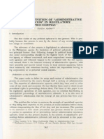 PLJ Volume 61 Fourth Quarter -01- Pacifico a. Agabin - Towards a Definition of Administrative Due Process in Regulatory Proceedings