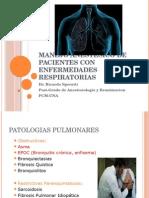 Paciente EPOC anestesia