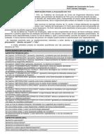 Critérios de Avaliação 2014 2