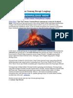 7 Tipe Letusan Gunung Api2