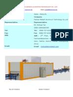 Aluminium Profile Wood Grain Machine